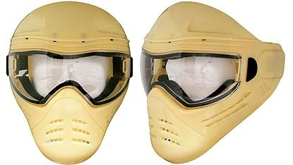 Save Phace Marks-A-Lot Series Assassin Plain Tactical Mask For Painting/Customizing