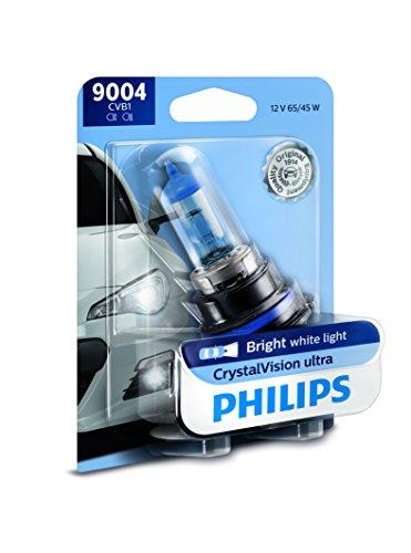 Philips 9004CVB1 CrystalVision Ultra Upgrade Headlight Bulb, 1 Pack - 200sx Halo Headlights