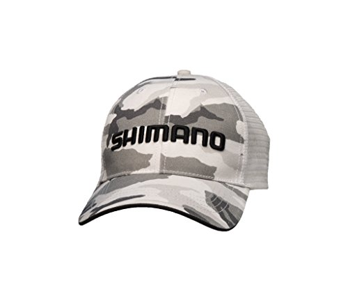 Shimano American Corporation Shimano AHATSMOTCCAMO Smokey Trucker Cap (Camo) (Shimano Fishing Shirts For Men)