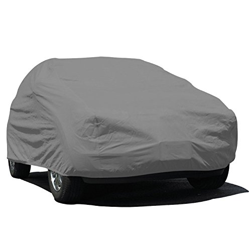 Budge Lite SUV Cover Fits Small SUVs up to 162 inches, UB-0 - (Polypropylene, Gray) ()