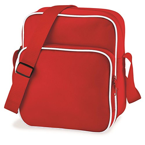 Classic Bag Day Retro White Base Red Bag wO0qFIfx