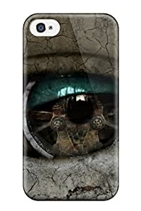 Cute High Quality Iphone 4/4s Stone Eye Art Case