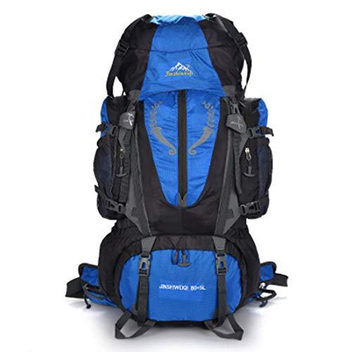 Blue Campeggio Da Viaggio Ploekgda Ad Multifunzione E color Capacità Indossabile Orange Impermeabile Zaino Alta wqYOU