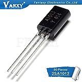 50PCS 2SA1013 TO92 A1013 TO-92 Bipolar Transistors - BJT Transistor PNP 160V 1A New and Original