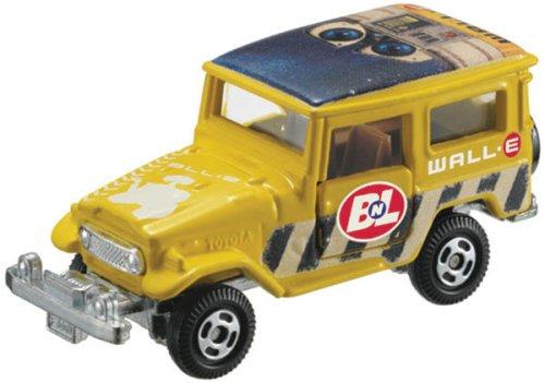 1/60 トヨタ ランドクルーザー(イエロー) WALL・E 「ディズニー・ピクサー トミカコレクション D-42」