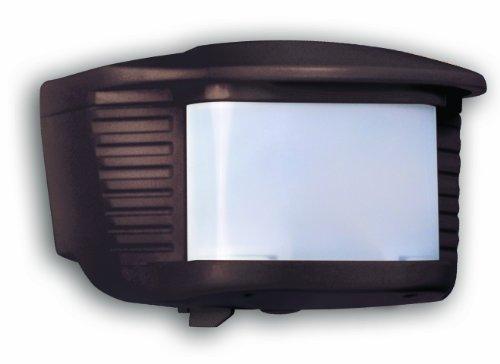 Designers Edge L6020BR 180-Degree Replacement Motion Sensor with Adaptor, Bronze, 500-watt