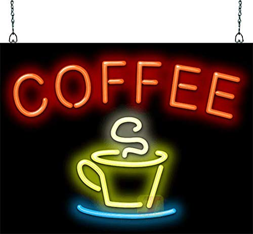 Coffee with Coffee Cup Neon Sign ()