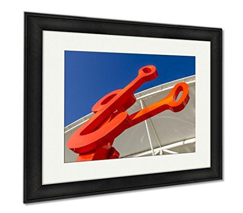 Ashley Framed Prints Denver Union Station Train Depot, Wall Art Home Decoration, Color, 26x30 (frame size), Black Frame, - Station Shops Union Denver