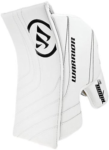Warrior Intermediate Ritual Goalie Hockey Blocker, White/White/Royal GBRTI2 INT