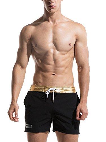 Neleus Men's Dry Fit Lightweight Swim Trunk Beach Shorts,725
