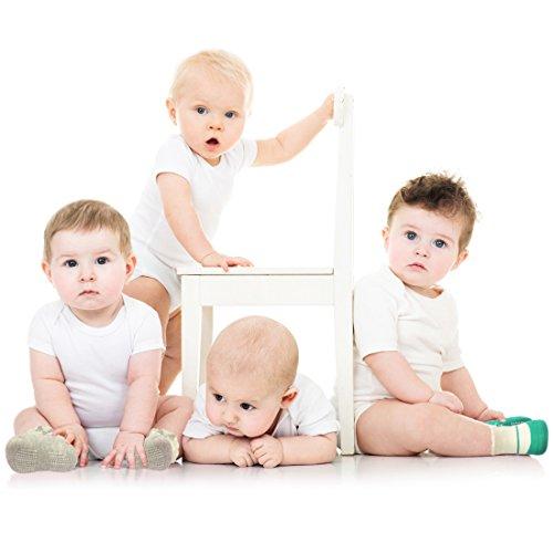 BABIBEAN Babys Anti Skid Toddlers New Born Dress Socks Socks 6 Pairs Christmas Socks