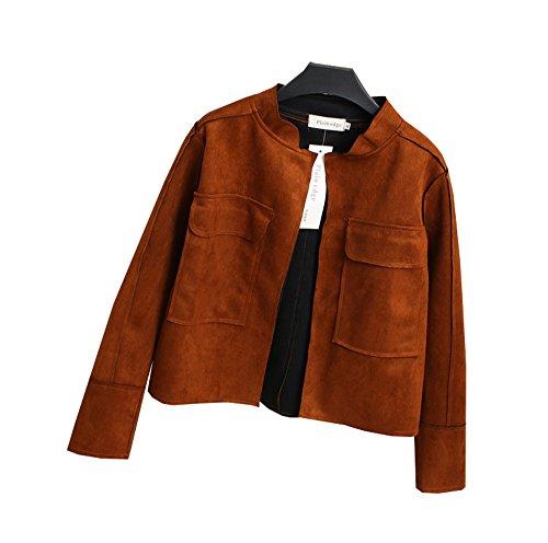 COCO clothing - Blouson - Teddy - Manches Longues - Femme Gris gris Kaki