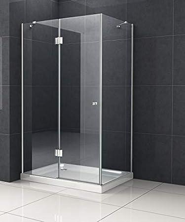 Cabina de ducha monett 80 x 90 cm, sin plato de ducha/Ducha ...