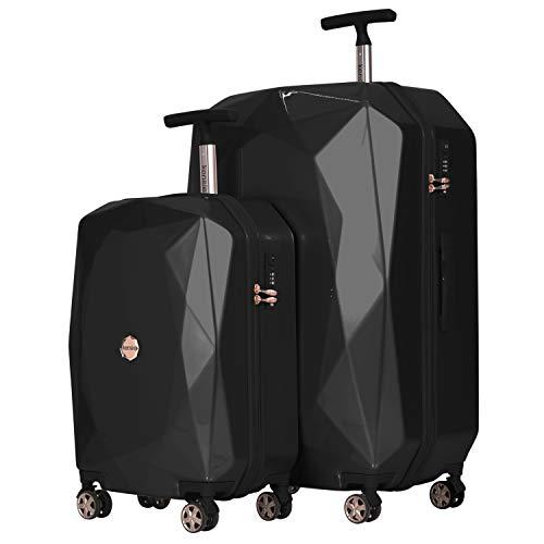 kensie 20 or 2 Piece Charming Diamond Womens Luggage Set