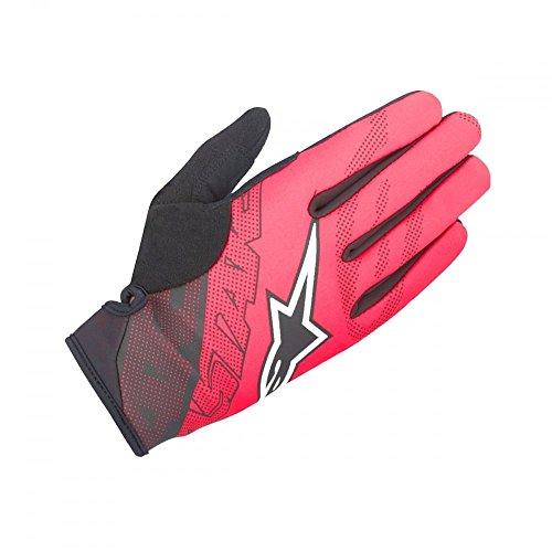 Alpinestars Stratus Gloves, Black/Red, X-Large (Alpine Womens Bike)