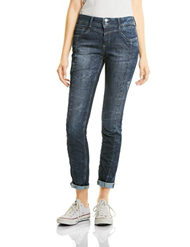 Slim One Auth Bleach 11032 dark Blu Jeans Street Donna Random Blue EAwPxqHx46