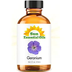 Geranium (Egypt) (Large 4 ounce) Best Essential Oil