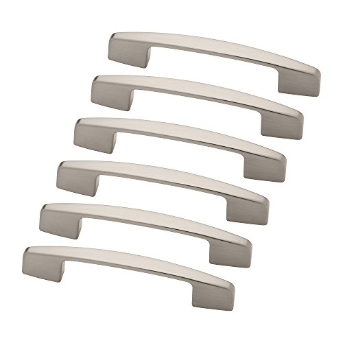 - Franklin Brass 3250675-SN-KT Newton Kitchen or Furniture Cabinet Hardware Drawer Handle Pull, 2-3/4