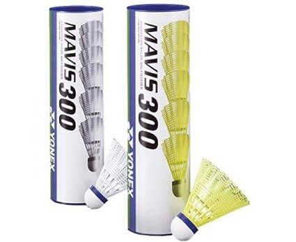Yonex Mavis 300 Badminton Equipo Volantes Amarillo