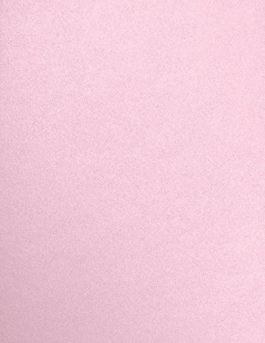 8 1/2 x 11 Paper - Rose Quartz Metallic (50 Qty) | Perfect for Holiday crafting, invitations, scrapbooking and so much more! | 81211-P-75-50