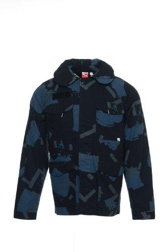 4992ba5d56b5 PUMA  Sport Lifestyle  Black Camo Military Jacket