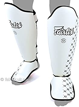 Details about  /Fairtex Shin Guards Blue SP5 Shin Pads Kickboxing Muay Thai Boxing Sparring MMA