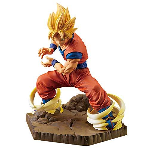 Dragon Ball Z 10104_38663 Banpresto Absolute Perfection Figure - Son Goku, Brown
