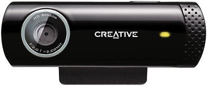 Creative Live! Cam Chat HD, 5, 7 MP Webcam (Preto