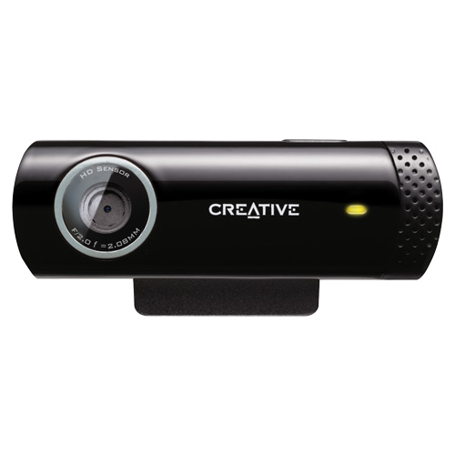 Creative Live! Cam Chat HD, 5.7MP Webcam (Black) by Creative