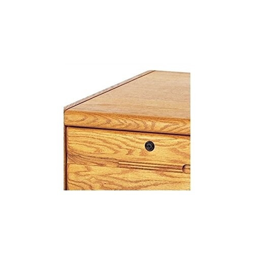 Martin Furniture Contemporary 2 Drawer File Cabinet, Fully Assembled