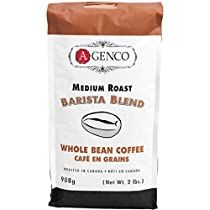A.Genco Importing Barista Blend Whole Bean Coffee for Stove Top