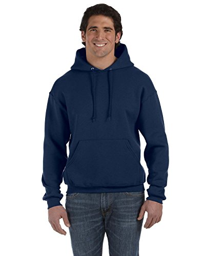 Product of Brand Fruit of The Loom Adult 12 oz Supercotton Pullover Hood - J Navy - XL - (Instant Savings of 5% & More)