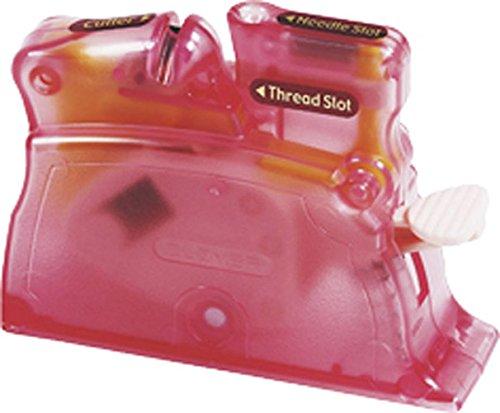 (Clover Desk Needle Threader, Pink (4073))