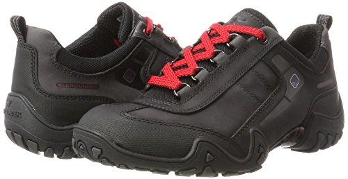 tex Mephisto 08 G Femmes Zinc 1 Noires Noir Fina Chaussures Pour De nubuk Course caoutchouc C6n77txqU