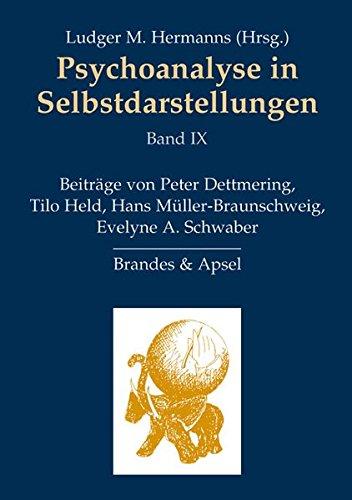 Psychoanalyse in Selbstdarstellungen: Band IX