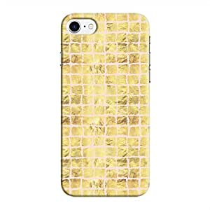 Cover It Up - Gold Pink Break Mosaic iPhone 8 Hard Case