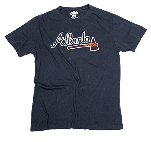 Red Jacket MLB Atlanta Braves Brass Tacks Vintage Style T-Shirt (Braves Atlanta Brass)