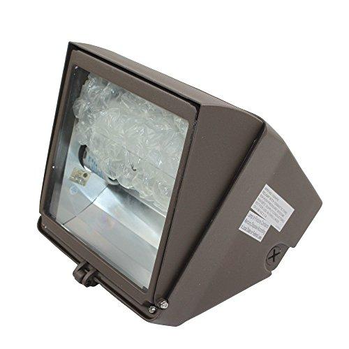 NSI WPCA100S Adjustable Wallpack 100W 120V/ 60Hz Ballast HPS Light; Bronze