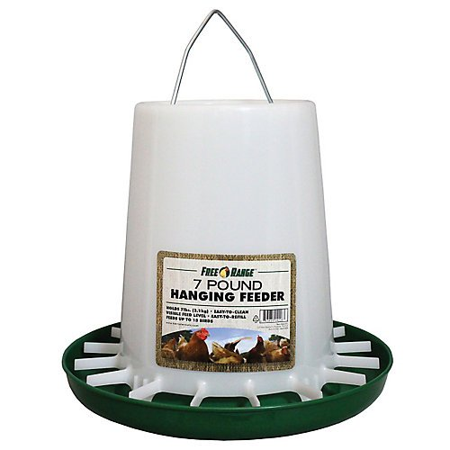 Harris Farms Plastic Hanging Poultry Feeder 7 ()