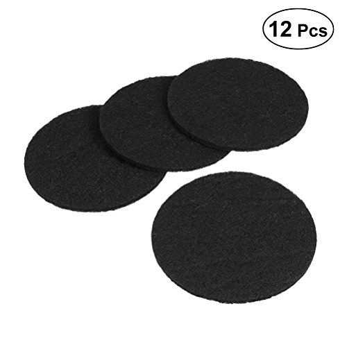 BESTONZON 12pcs Litter Box Carbon Activated Filter Charcoal Cat Litter Filter Replacement for Odor Control and Anti Foul Odor