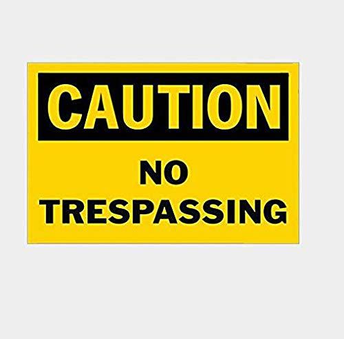 立ち入り禁止のお土産 金属板ブリキ看板注意サイン情報サイン金属安全サイン警告サイン表示パネル