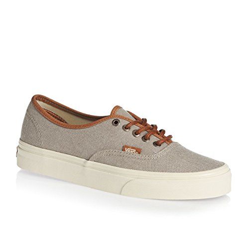 Vans Trainers Authentic Dx Shoes - Deser. Formateurs Authentiques Chaussures (brushed) Desert Taupe/tu (bross