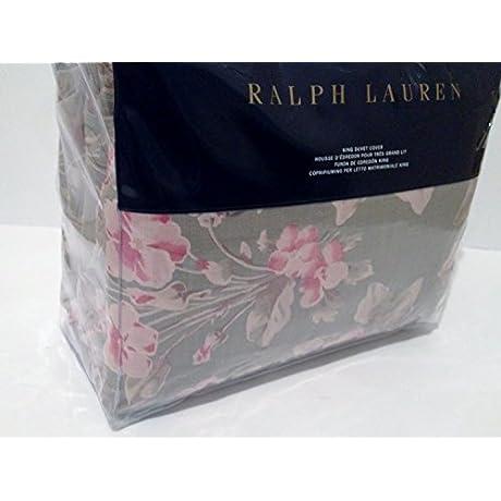 Ralph Lauren Amagansett Layla Floral Sage KING Duvet Cover