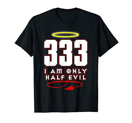 333 Shirt Funny Half Evil Angel Devil Tshirt