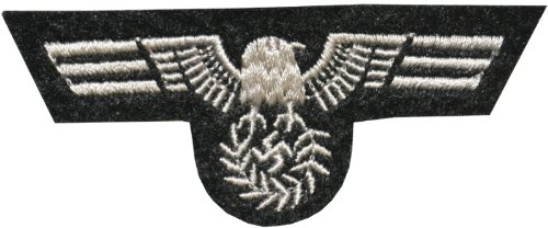 WMU Costumes military eagle patch