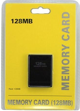 PS2 128 MB Tarjeta de memoria Memory Card para PlayStation 2 ...