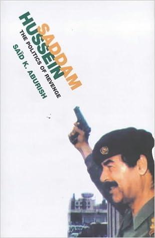 Saddam Hussein: The Politics of Revenge by Said K. Aburish (2000-01-21)