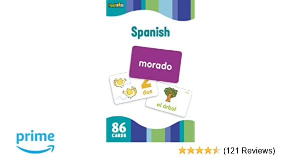 Spanish (Flash Kids Flash Cards): Flash Kids Editors: 9781411434905: Amazon.com: Books