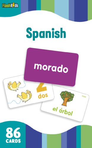 Spanish (Flash Kids Flash Cards) (Spanish Alphabet Coloring Book)