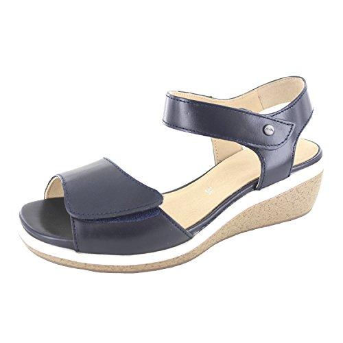 Blue Taupe ara Platform Sandals Sirmione Blue Women's 0wnx0YR7q1